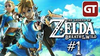The Legend of Zelda Breath of the Wild Gameplay German - Let's Play Zelda Breath of the Wild Deutsch