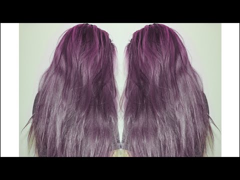 HOW TO: DYE YOUR HAIR LAVENDER / PURPLE