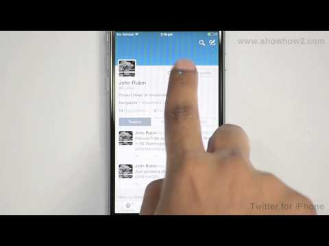 Twitter For iPhone - How To Add Another Twitter Account On Your Phone