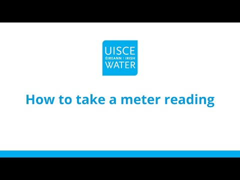 How to take a meter reading | Metering explained | Irish Water