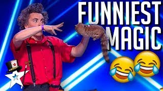 Funniest Magician Has Judges in Stitches | Magicians Got Talent