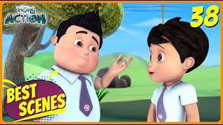 BEST SCENES of VIR THE ROBOT BOY | Animated Series For Kids | #38 | WowKidz Action