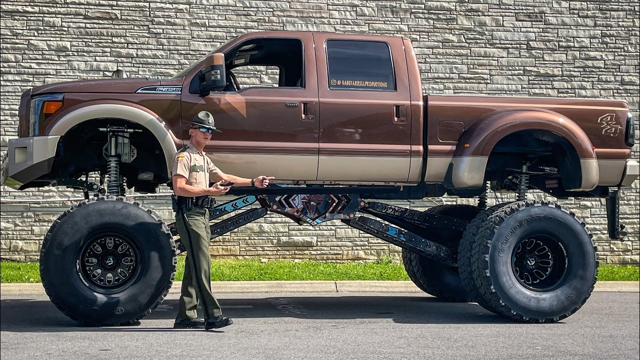 These Cops HATE Lifted Trucks!