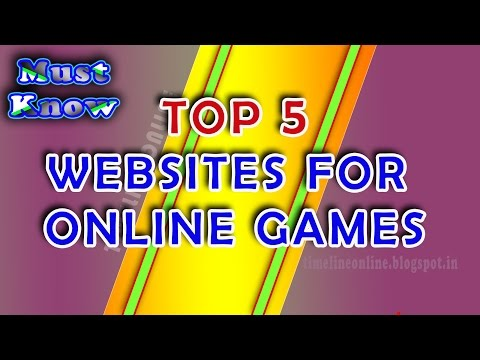 Games Top 5 | Life Hack Websites | Free Online Games | Must Know | Revealed 2016 !!