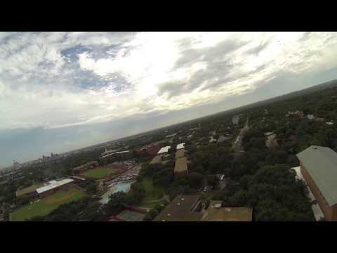 Flight of the Quadcopter | Trinity Fly By