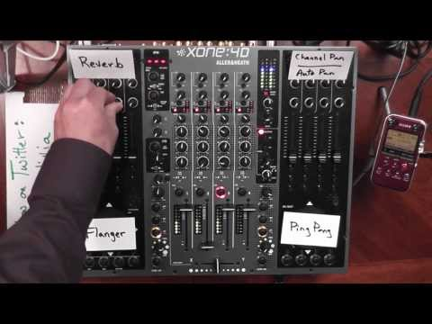 Example Tech-House DJ Set using Ableton Live with Allen & Heath Xone 4D Mixer - Audience Perspective