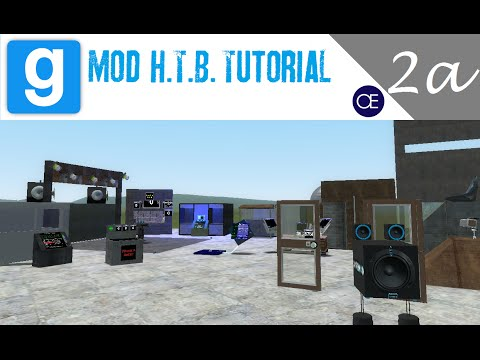 [Gmod] How to Build Tutorial 2a: Auto Hydraulic Door - Introduction