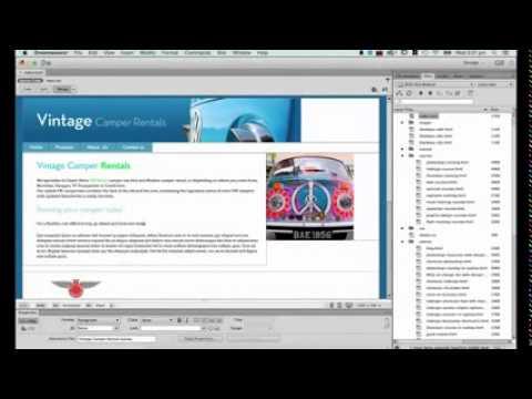 Dreamweaver CC Tutorial   Part 34   Meta Description Tag