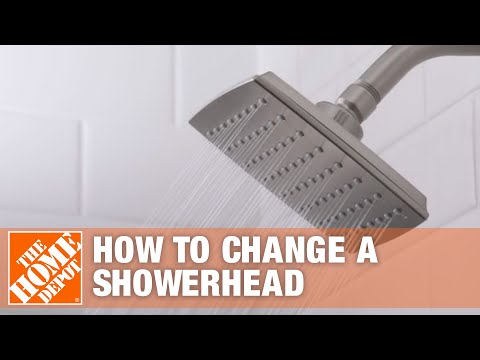 How to Replace a Showerhead – Installing a Showerhead