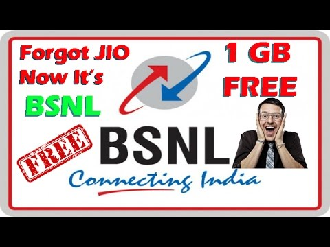 BSNL Offers 1 GB Free Data To Its Non Internet Users | BSNL Free 1 GB Offer 2017 (Hindi)