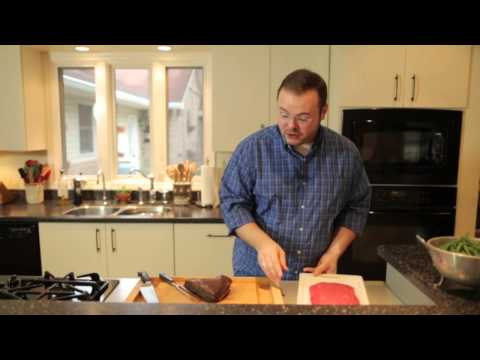 Cooking Lesson: Slicing Meat Against the Grain