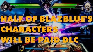 Blazblue: Cross Tag Battle Selling 50% Of Its Roster As DLC