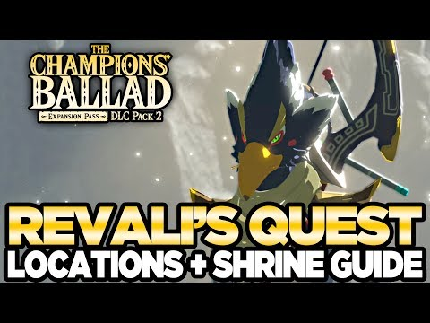 Revali's Song - Locations & Shrine Guide The Champions Ballad Breath of the Wild | Austin John Plays