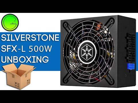 SFX-L PSU Silverstone mini ATX Unboxing first impressions - NextGenTutorials