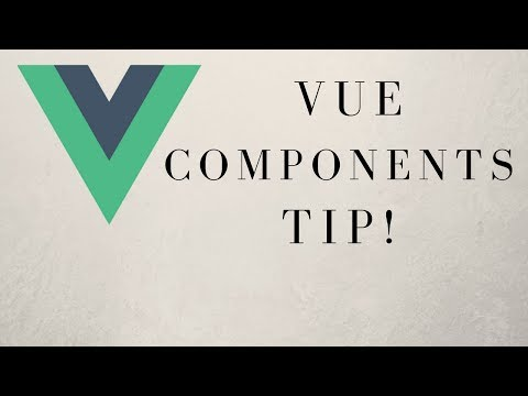Quick Tip - How To Split A Vue.js Component Into Three Files