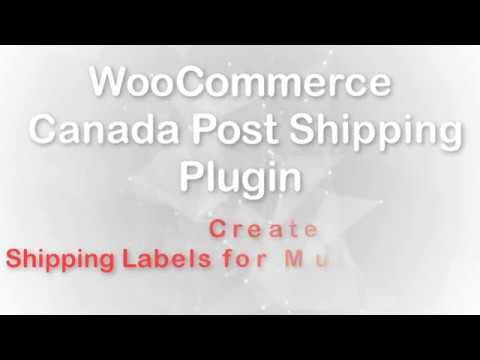 Print Shipping Labels for Multiple Packages using WooCommerce Canada Post Shipping Plugin