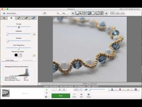 How to Edit Your Etsy Photos in Picasa