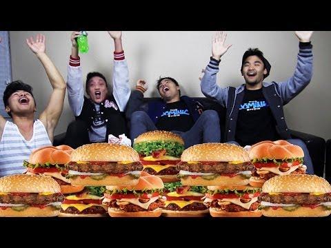 Ultimate Burger CHALLENGE!!!