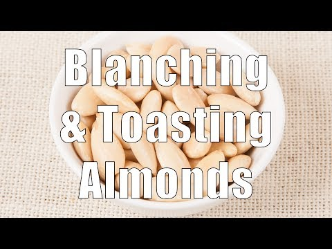 Blanching & Roasting (Toasting) Almonds (Med Diet Episode 60)
