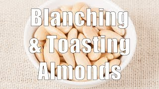 How To Blanch Roast Toast Almonds Med Diet Episode 60