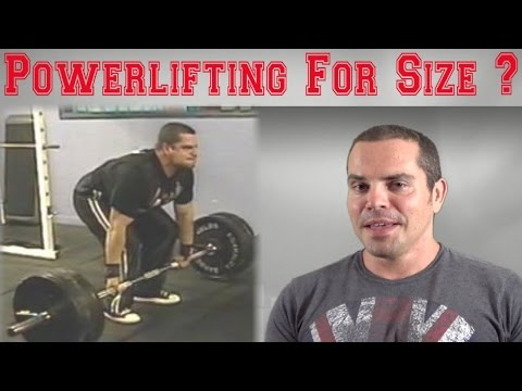 Does Powerlifting Build Muscle Size?