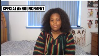 SPECIAL ANNOUNCEMENT (Please Watch)