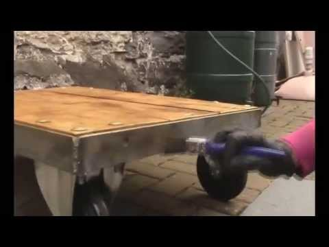 How to make a Industrial Coffee Table - Easy Welding Project