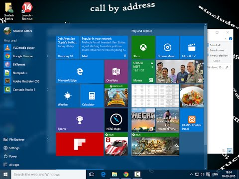 A brief overview of Windows 10 - Part One