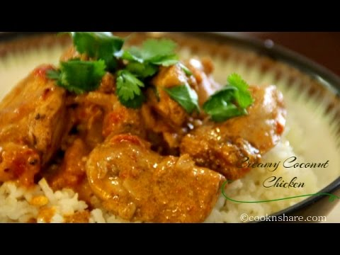 Creamy Coconut Chicken - Dinner in 30 Minutes