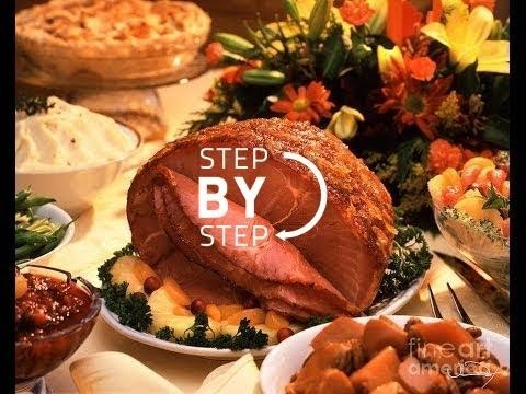 Southern Comfort Roasted Ham, Baked Ham, How to Bake a Ham, Jan Charles