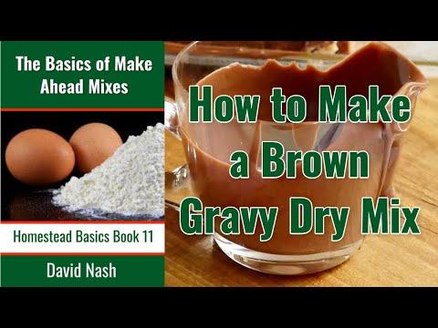 DIY Brown Gravy Packet