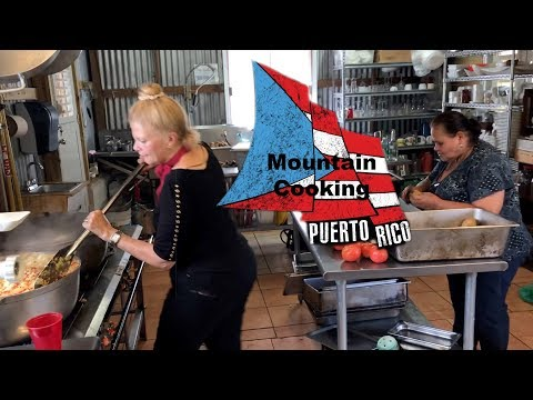Mountain Cooking in Puerto Cooking with World Chef Kitchen