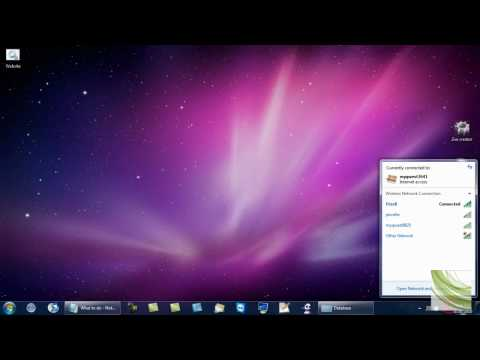 How to change Firewall settings with Windows 7