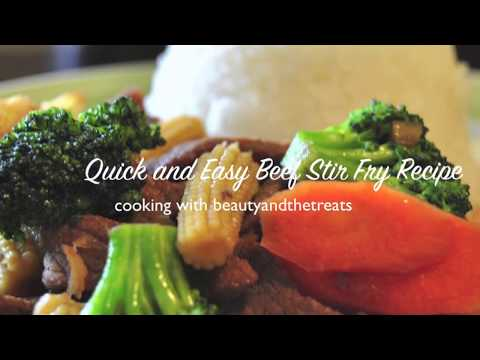 Easy Stir Fry Beef and Vegetables
