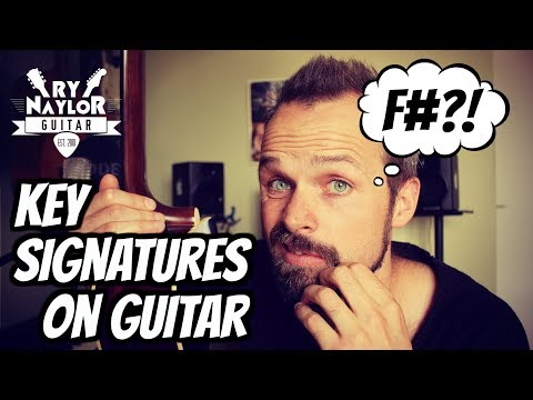 Understanding Key Signatures when playing Guitar.  Why Sharp and Flat Notes Occur.