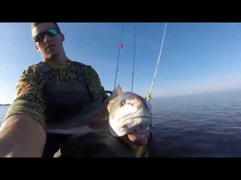 Kayak Fishing Beaufort, SC: Winter Redfish.