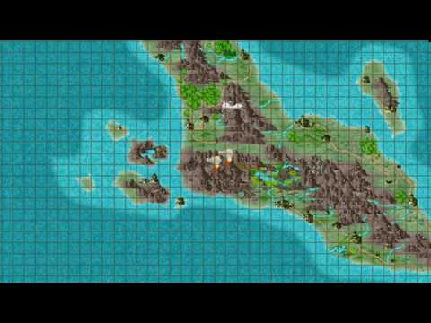 CC3 plus Overland Map 10 Scales and Grids