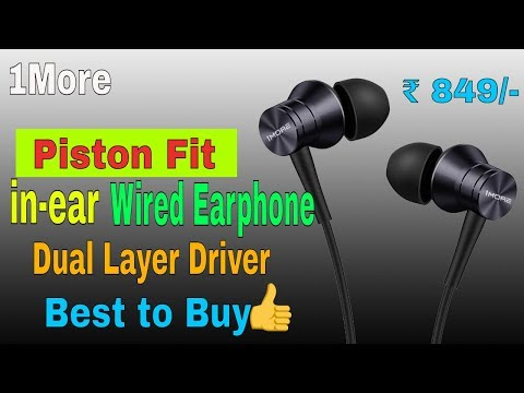 1More Piston Fit in-ear Wired Earphone with Microphone...