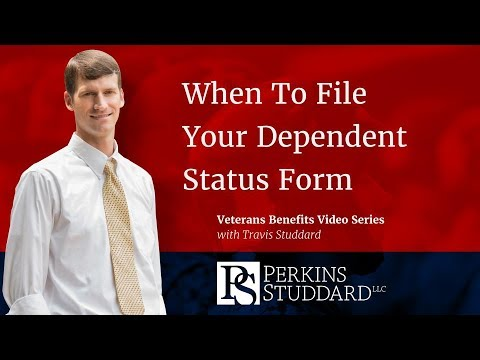 When To File Your VA Dependent Status Form 21-686C