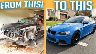 BUILDING AN M3 BMW IN 8 MINUTES!