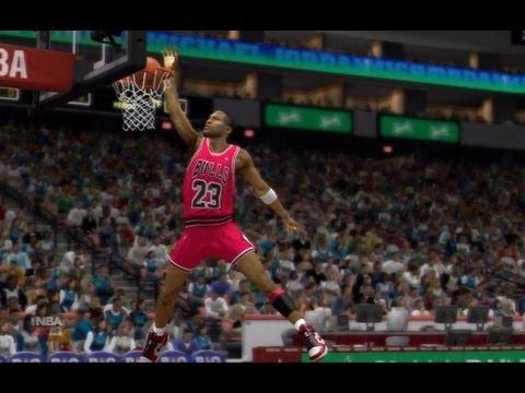 NBA 2K13 | Dunk Contest (Jordan,Bryant,Wilkins,Lebron)