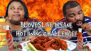 Download BLOVESLIFE INSANE HOT WING CHALLENGE! MY LIPS BUSTED.. Video