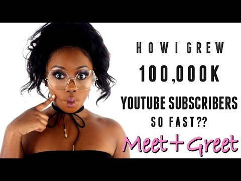 HOW TO GET 100K SUBSCRIBERS ?? | Learn all the Blogging Secrets & Meet + Greet | Lizzie Loves
