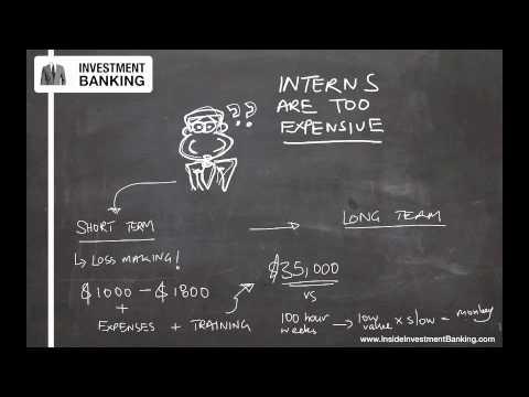 Investment Banking Internship Salary Revealed