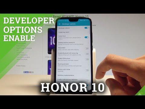 How to Enable Developer Options on Honor 10 - OEM Unlock / USB Debugging  HardReset.Info