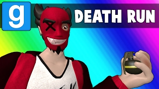 Gmod Deathrun Funny Moments - Impossible Rainbow Map(Garry