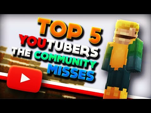 Top 5 Minecraft YouTubers The Community Misses