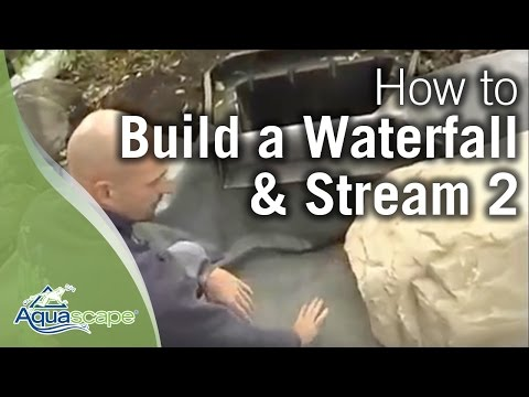 How to Build a Waterfall and Stream Part 2