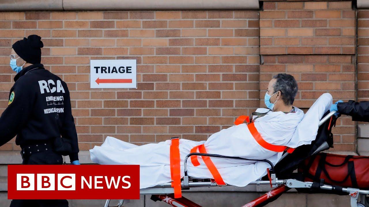 Coronavirus: New York state's death toll passed 10,000  - BBC News