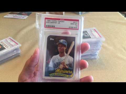 My graded baseball card collection 7-15-17 PSA BGS BVG